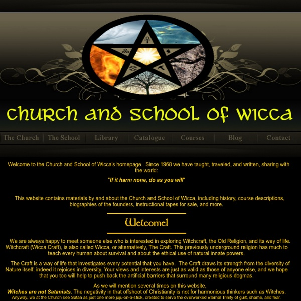 The Church and School of Wicca
