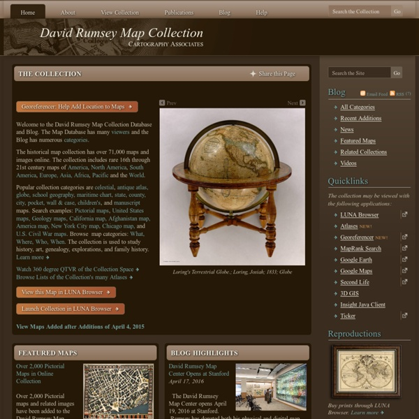Rumsey Historical Map Collection