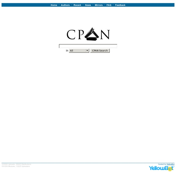 The CPAN Search Site - search.cpan.org