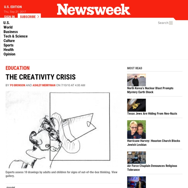 The Creativity Crisis