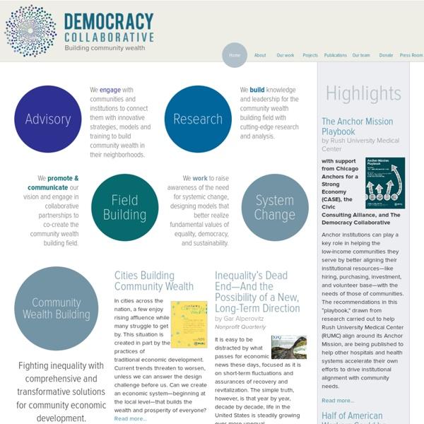The Democracy Collaborative
