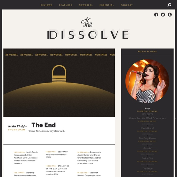 The Dissolve - Coming This Summer