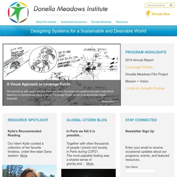 The Donella Meadows Institute