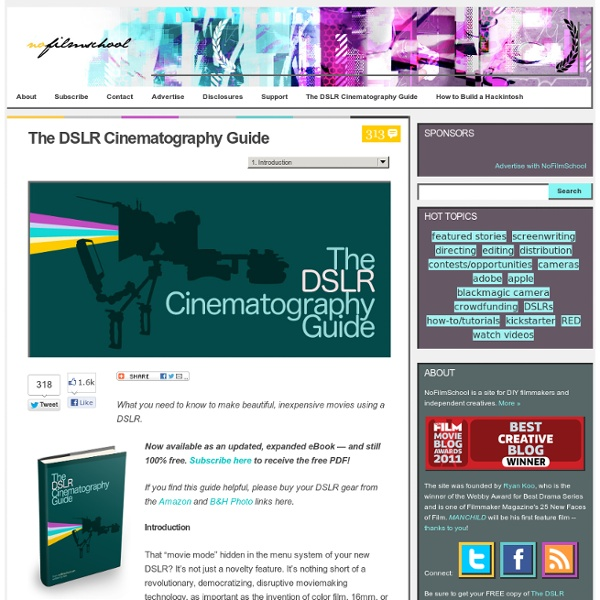 (PDF) DSLR-Cinematography-Guide-Spanish | Alejandro ...