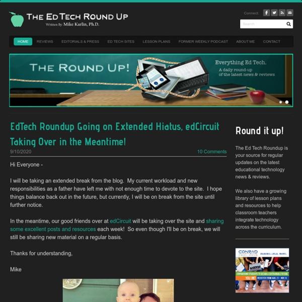The EdTech Roundup