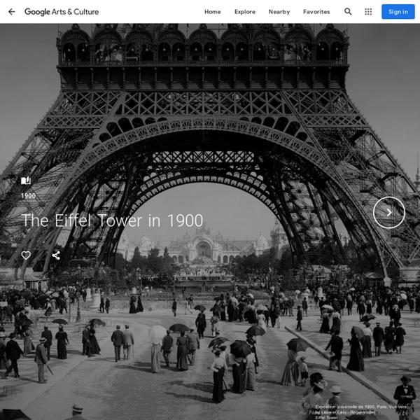 The Eiffel Tower in 1900 - Eiffel Tower
