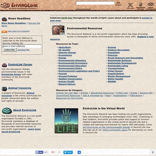 The EnviroLink Network