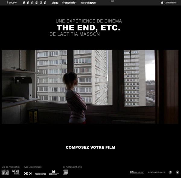 THE END, ETC. UNE EXPÉRIENCE WEB DE LAETITIA MASSON