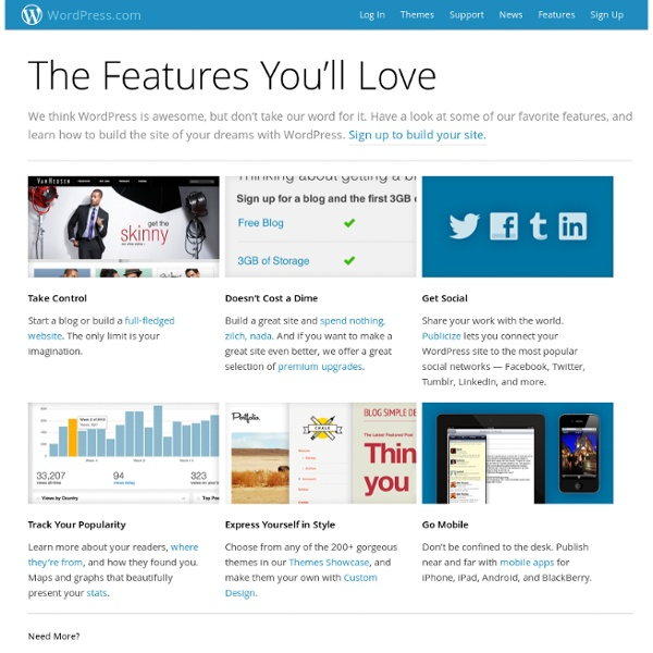 The Features You'll Love