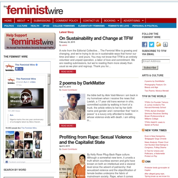 The Feminist Wire -