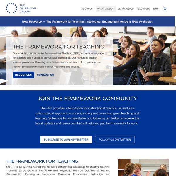 The Framework for Teaching