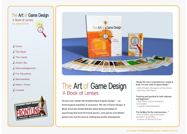 The Art Of Game Design Pearltrees - Fundamentals of game design