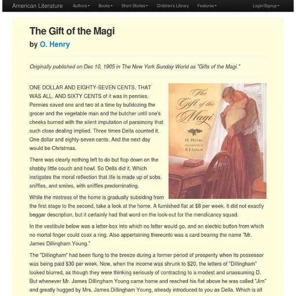 an analysis of the religious connotations in the story the gift of magi Start studying the last leaf vocabulary by o'henry learn vocabulary, terms, and more with flashcards, games, and other study tools.