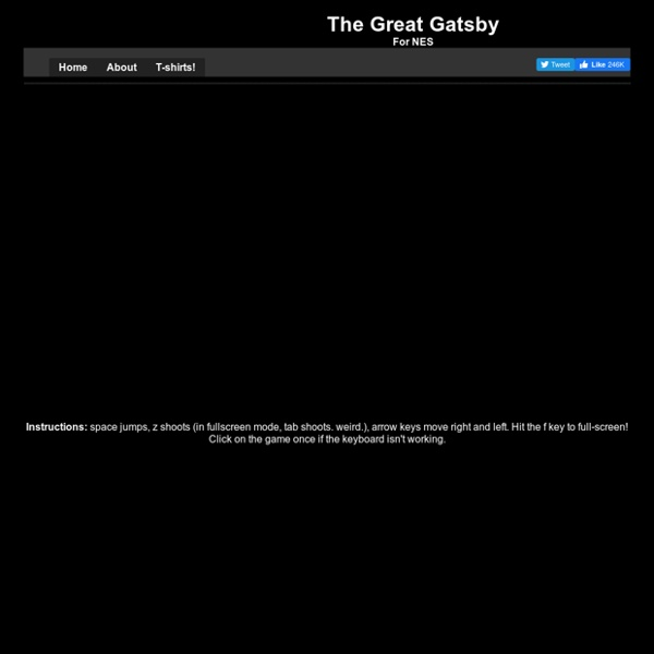 The Great Gatsby - For Nes