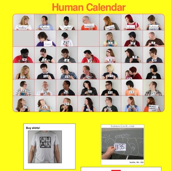 The human calendar®: Home