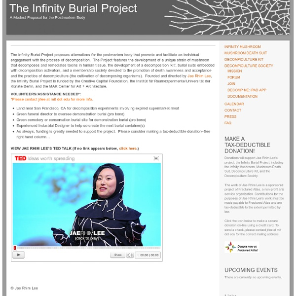 The Infinity Burial Project