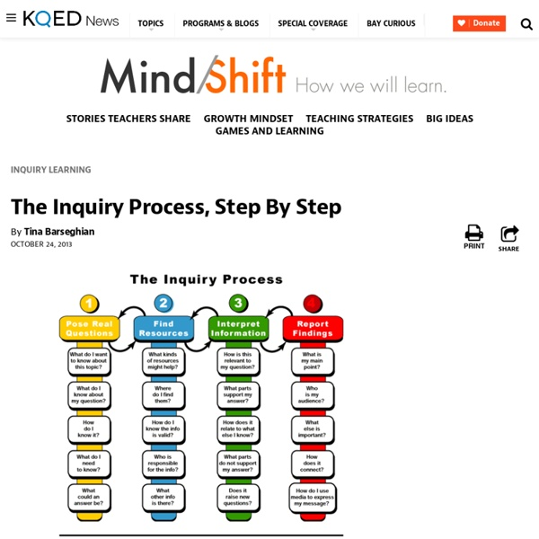 The Inquiry Process, Step By Step