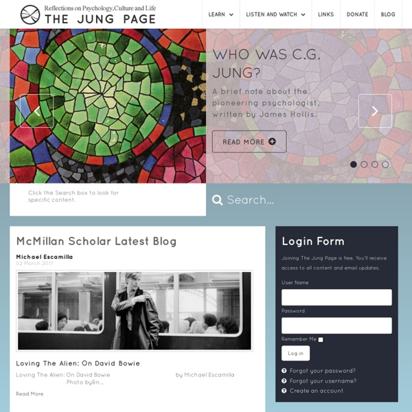 The C.G. Jung Page