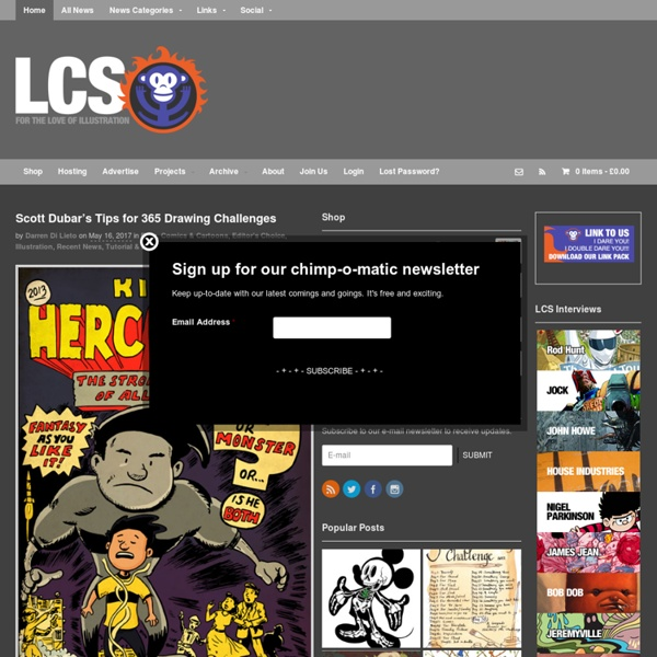 Little Chimp Society: Illustration and Art News for Illustrators and Artists