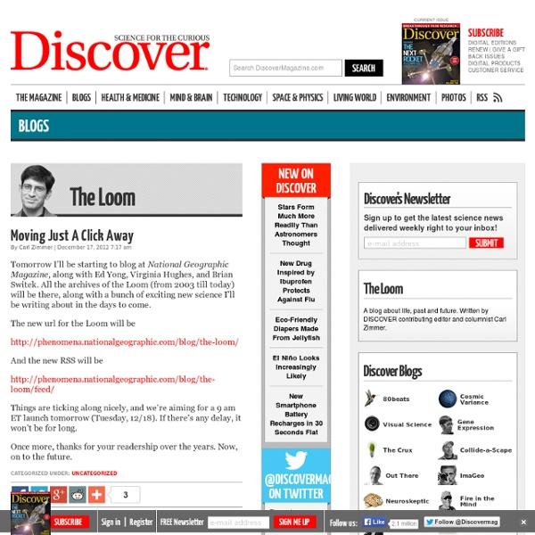 Discover Magazine dark matter