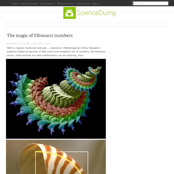 The magic of Fibonacci numbers