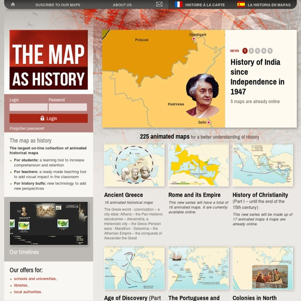 The map as History