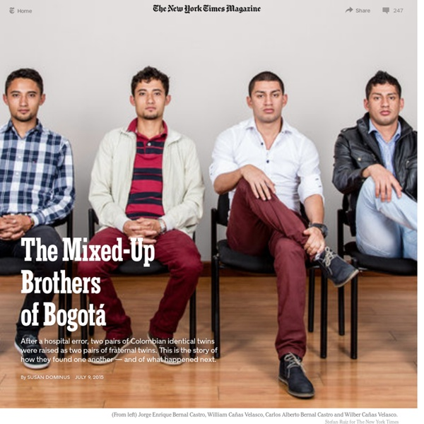 The Mixed-Up Brothers of Bogotá