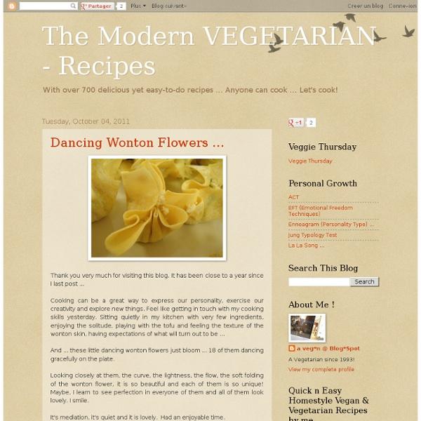 The Modern VEGETARIAN - Recipes