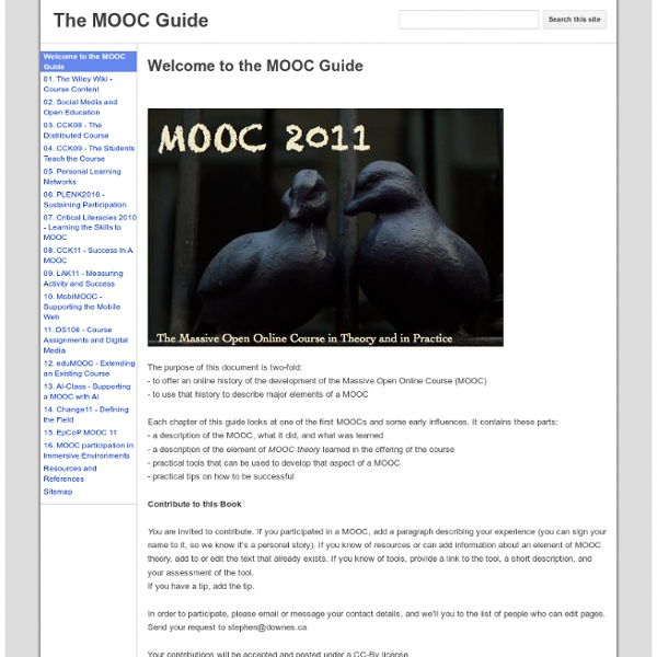 The MOOC Guide