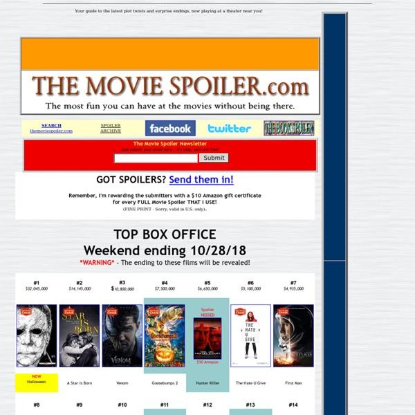 The Movie Spoiler