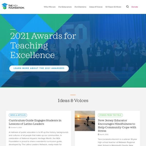 Grants to Educators // The NEA Foundation
