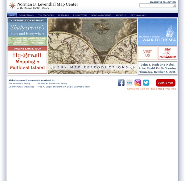 The Norman B. Leventhal Map Center