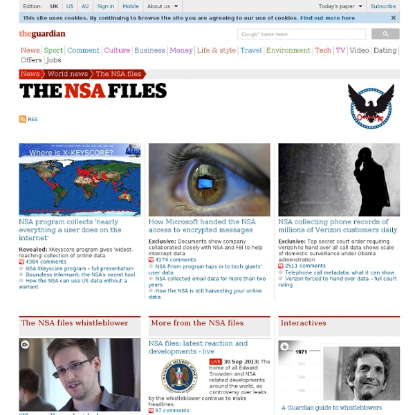 The NSA files