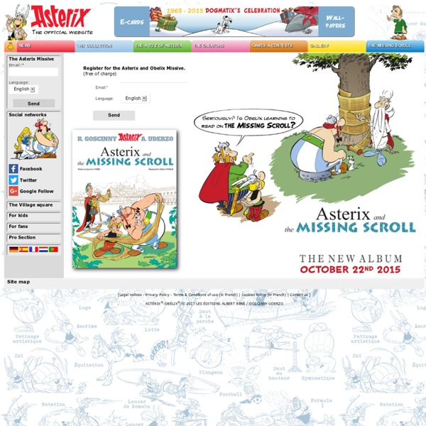 The official Asterix website