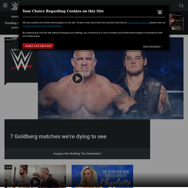 The Official Site of the WWE Universe