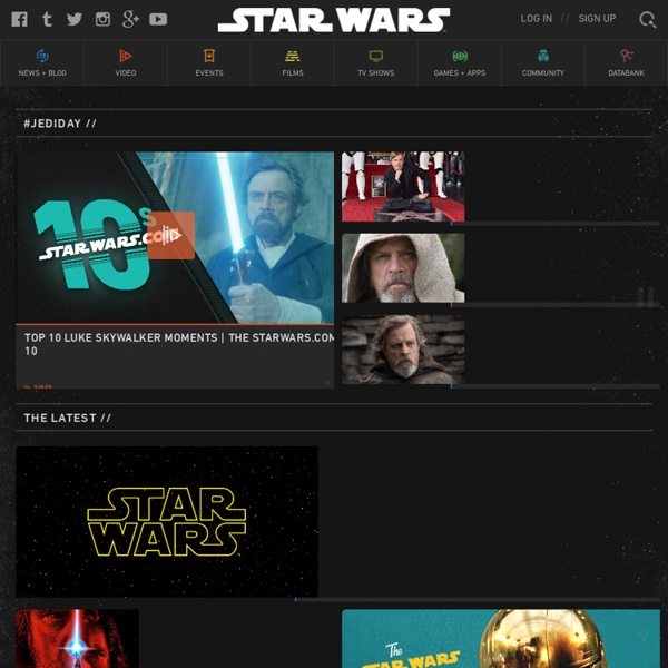 The Official Star Wars Website