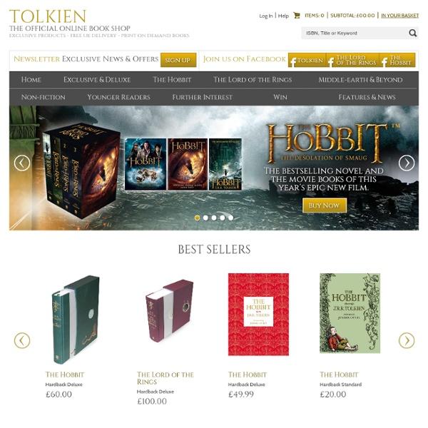 Official Tolkien Book Shop