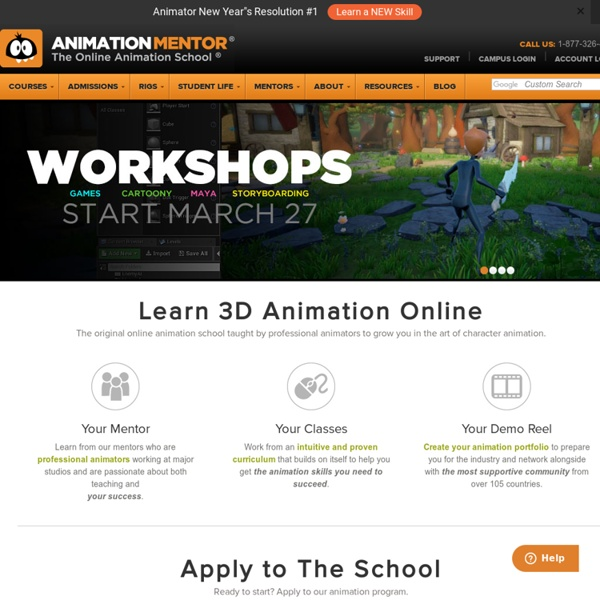 The Online Animation School