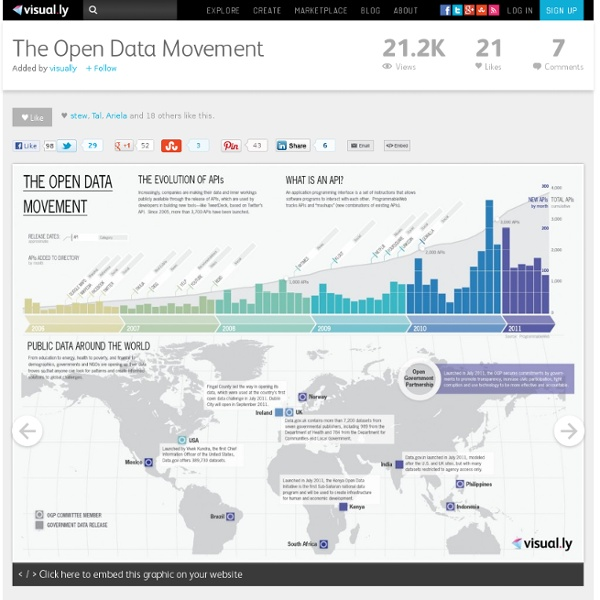 The Open Data Movement