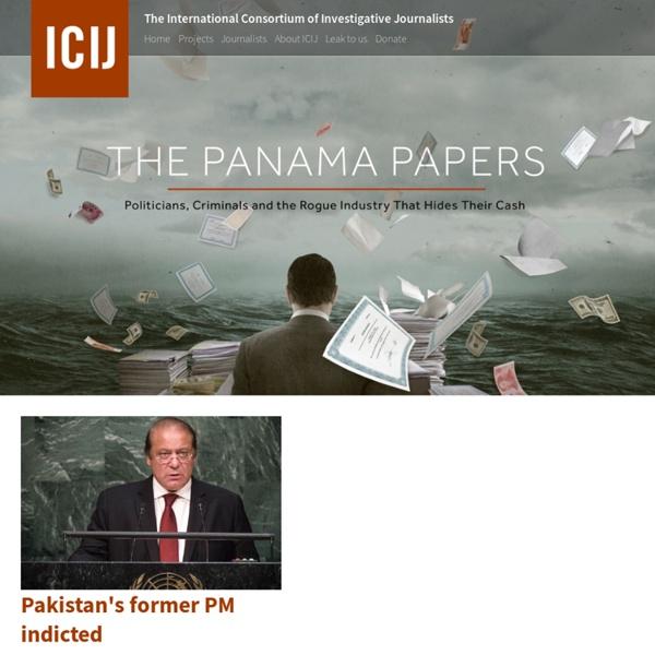 The Panama Papers · ICIJ