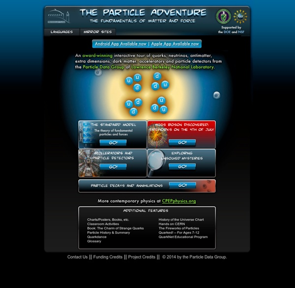 The Particle Adventure