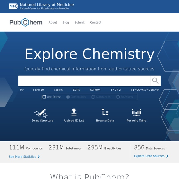 The PubChem Project