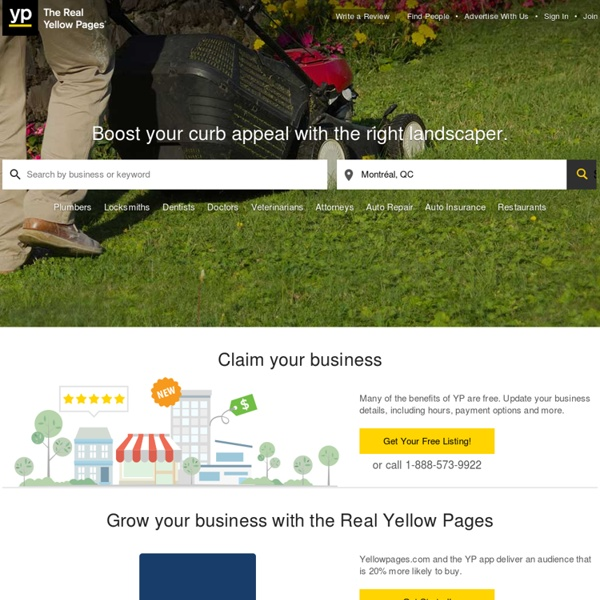 YP Mobile - Yellow Pages for Local Businesses with Reviews