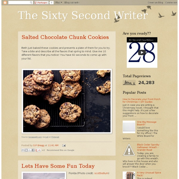 Sixty second writer