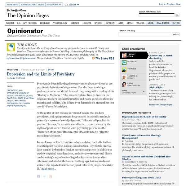 THE STONE - Opinionator