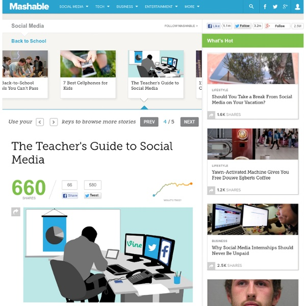 The Teacher's Guide to Social Media