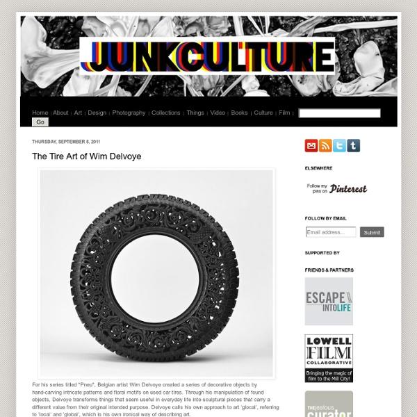 The Tire Art of Wim Delvoye