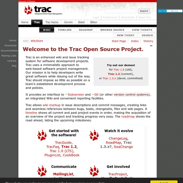 The Trac Project