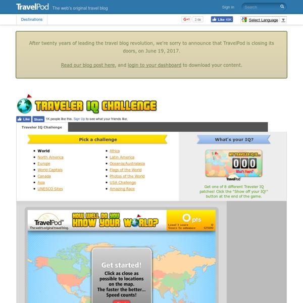 The Traveler IQ Challenge®