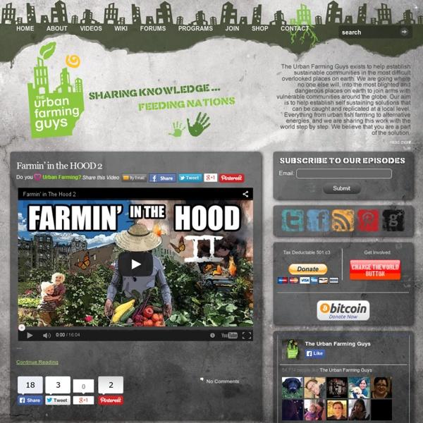 The Urban Farming Guys